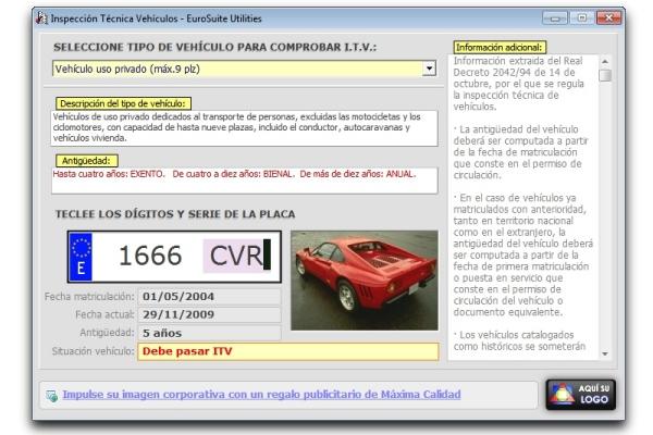 Informacion de vehiculos por matricula gratis