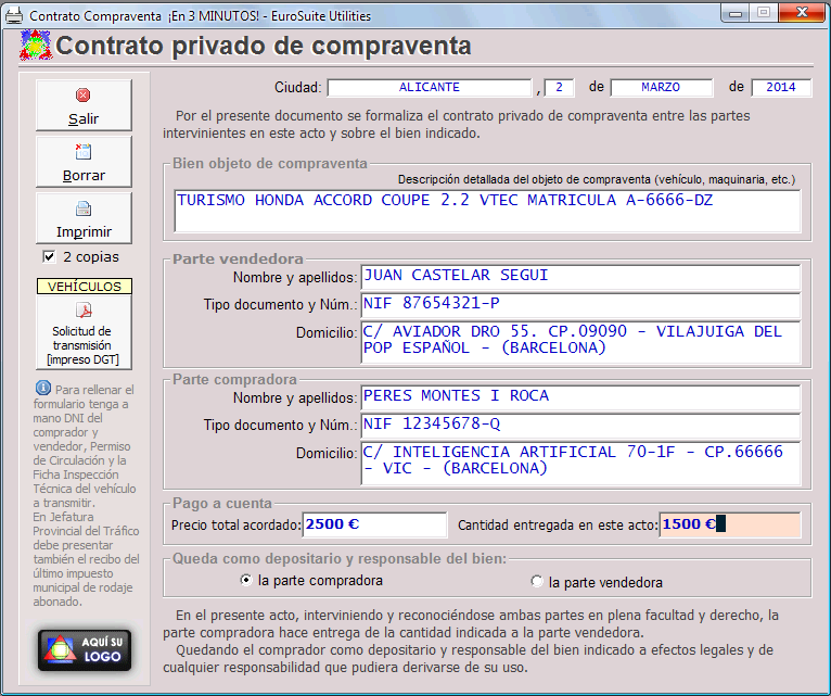 Plantilla para rellenar contrato compraventa web oficial for Contrato documento