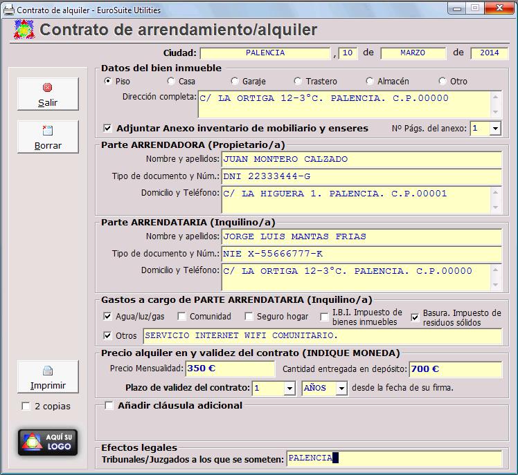 Como Hacer Contrato Alquiler Web Oficial De Eurosuite